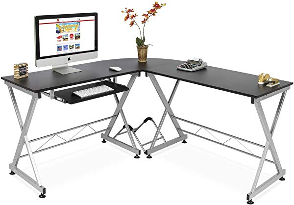 Best choice products L-shaped desk