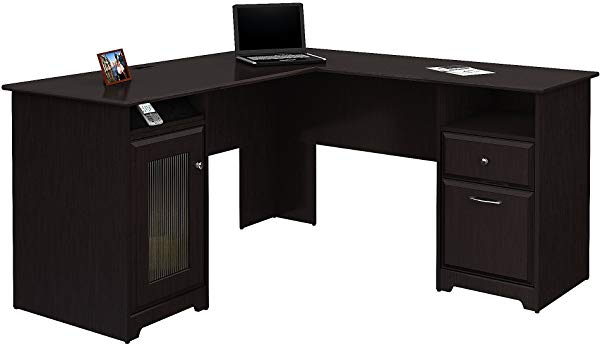 Bush L-shaped desk