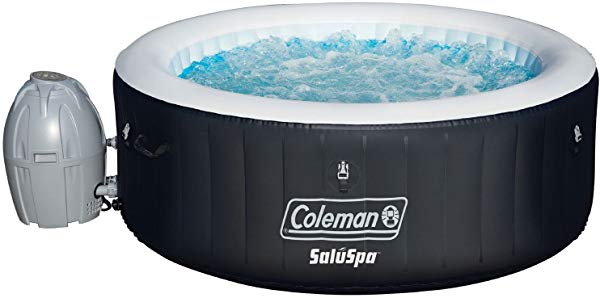 Hot water Coleman hot tub