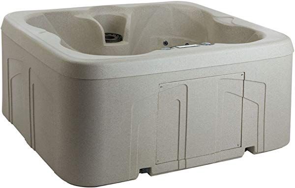 Lifesmart rock hot tub