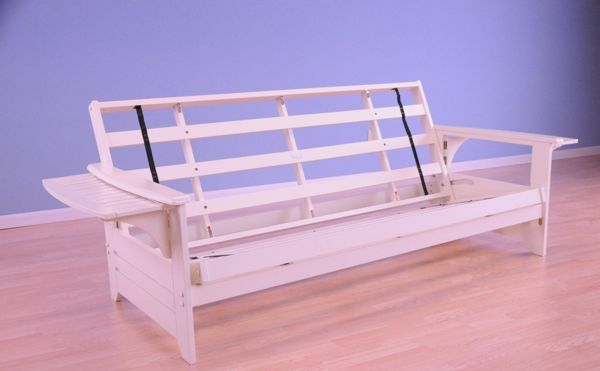 Red barrel futon bed frame