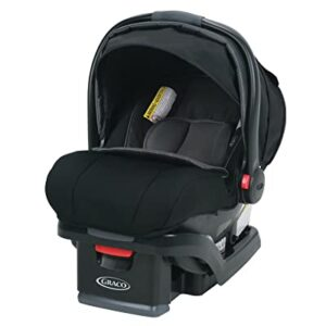 Graco infant car seat with child-safety features