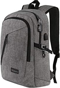 Mancro backpack for laptop and business documents